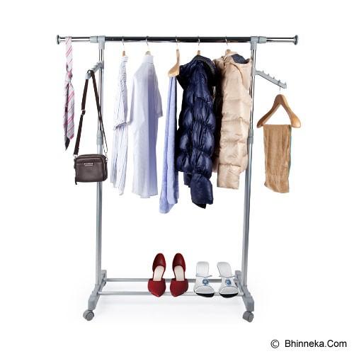 FUNIKA Clothes Rack [22085] - White - Rak Serbaguna